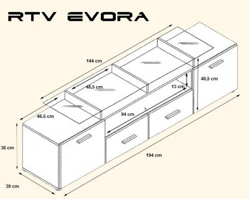 Evora tv benk 194